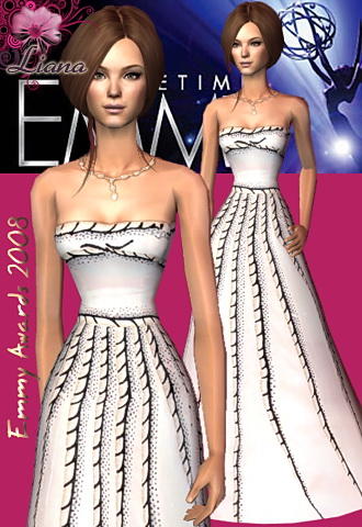 emmy awards 2008 Jennifer Love Hewitt dress