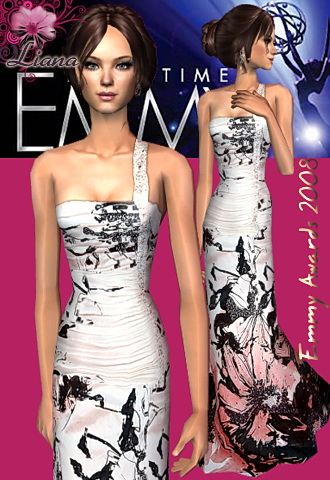emmy awards 2008 Vanessa Williams dress