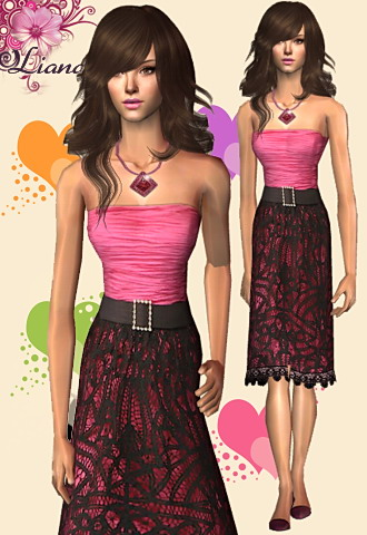 Valentines Day Lace Dress