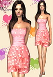 Valentines Day Hearts Dress